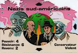 carte groupe nazis sud américain