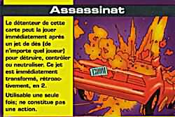 carte spéciale assassinat