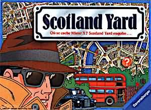 Scotland Yard pour Android à télécharger gratuitement. Jeu Scotland Yard